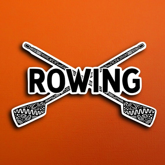 Rowing Sticker (WATERPROOF)