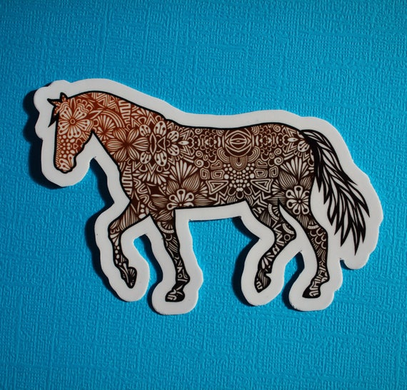 Full Horse Sticker (WATERPROOF)
