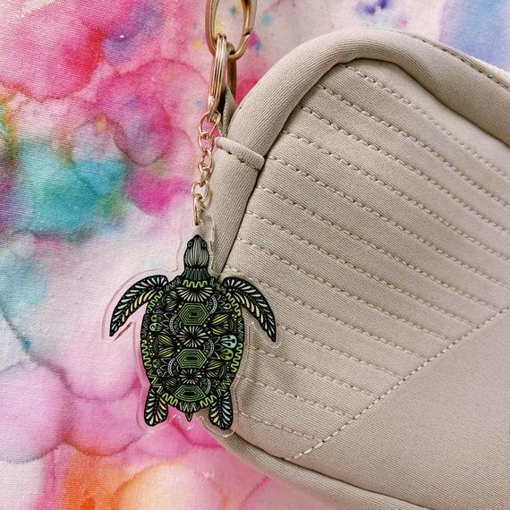 Turtle Acrylic Keychain