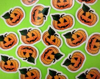Mini Pumpkin Sticker (WATERPROOF)