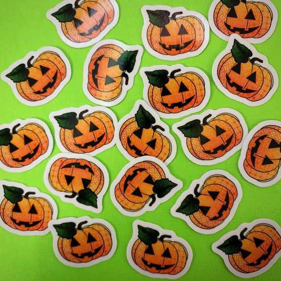 Mini Pumpkin Sticker