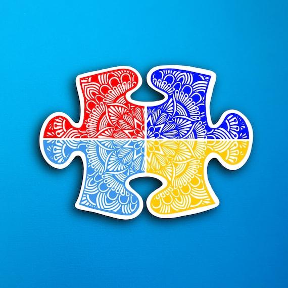 Puzzle Piece Sticker (WATERPROOF)