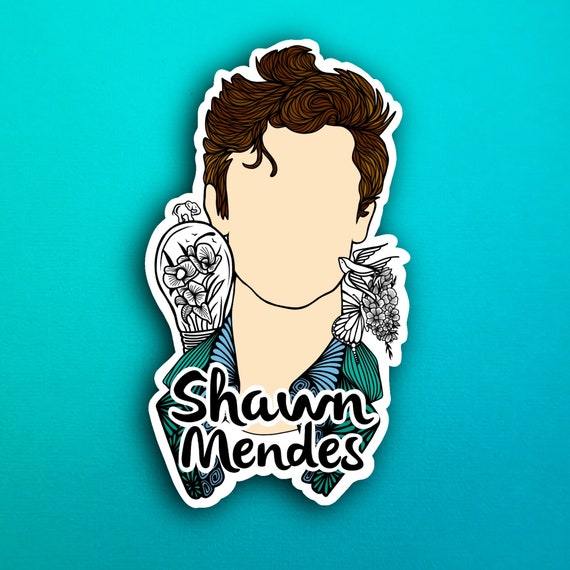 Shawn Mendes Sticker (WATERPROOF)