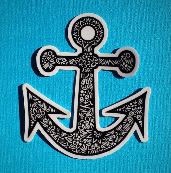 Anchor Sticker (WATERPROOF)