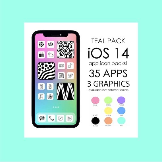TEAL iOS 14 App Icons!