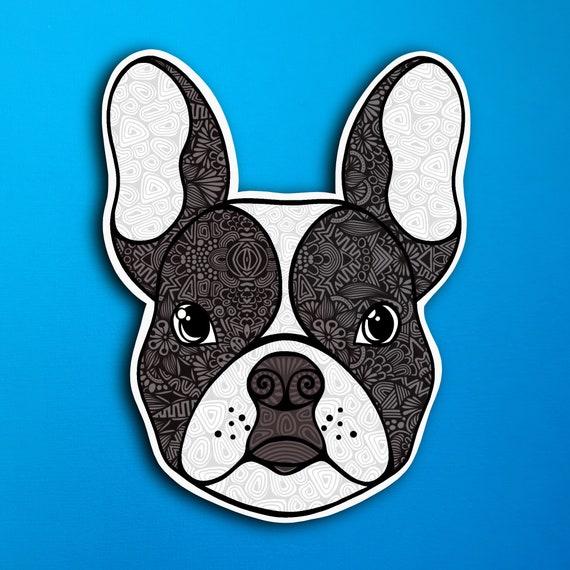 French Bulldog Sticker (WATERPROOF)