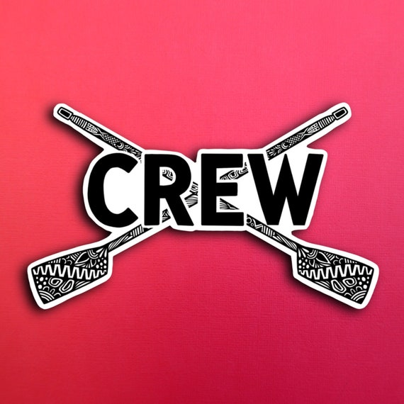 Crew Sticker (WATERPROOF)