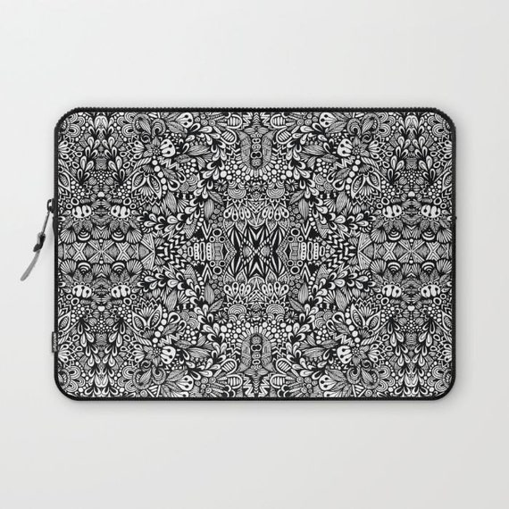 B&W Laptop Sleeve