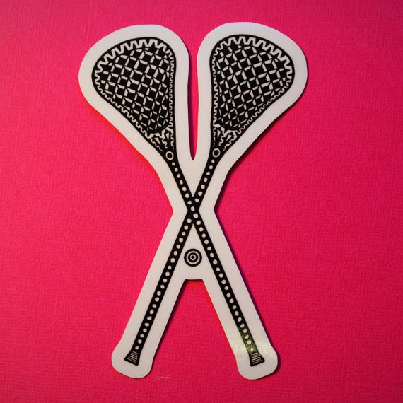 Lacrosse Sticker (WATERPROOF)