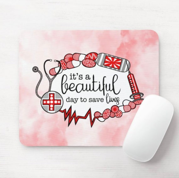 Save Lives Mouse Pad