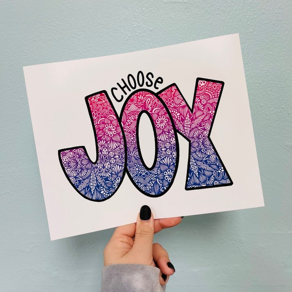 Choose Joy Print
