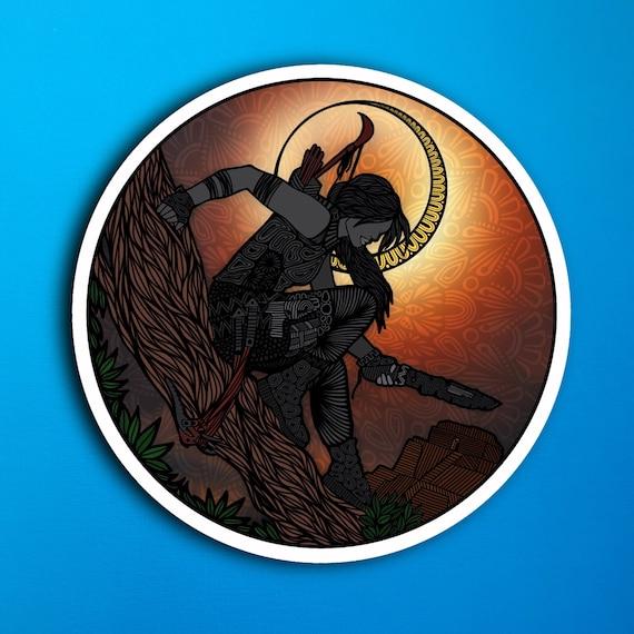 Tomb Raider Sticker (WATERPROOF)