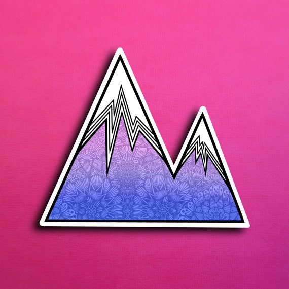 Mountain Sticker (WATERPROOF)