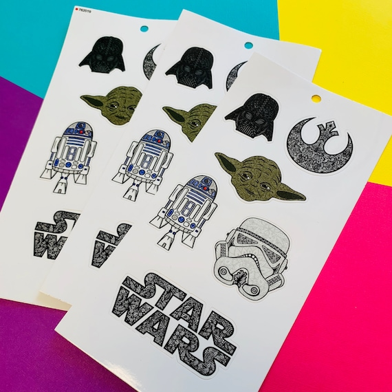 Mini Star Wars Sticker Sheet (WATERPROOF) (WATERPROOF)