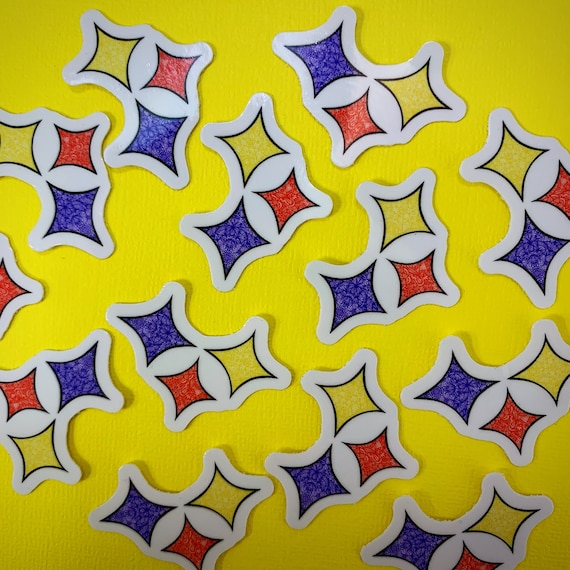 Mini Diamonds Sticker (WATERPROOF)