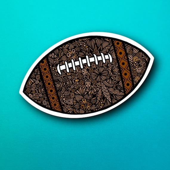 Football Sticker (WATERPROOF)