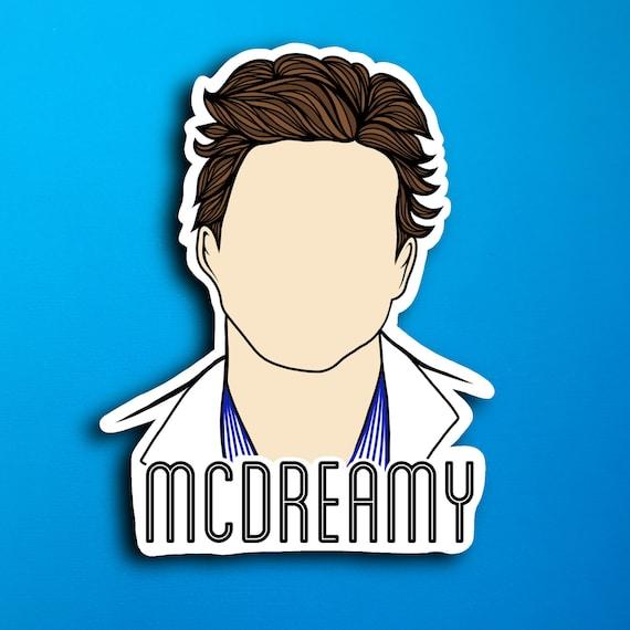 McDreamy Sticker (WATERPROOF)