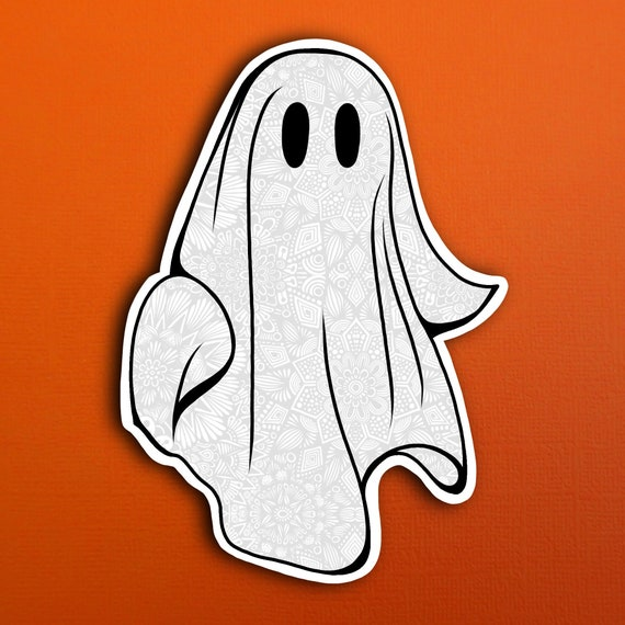 Ghost Sticker (WATERPROOF)
