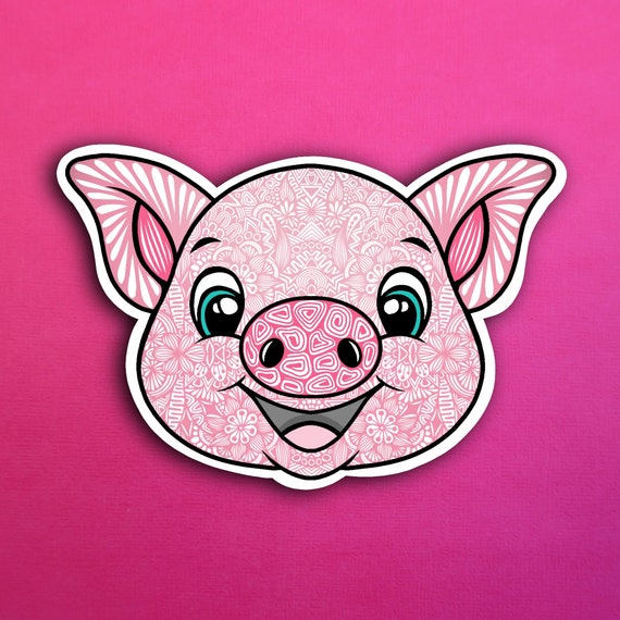 Pig Sticker (WATERPROOF)