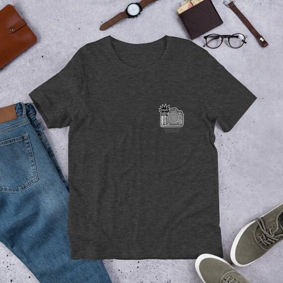 Camera Pocket Design Unisex T-Shirt