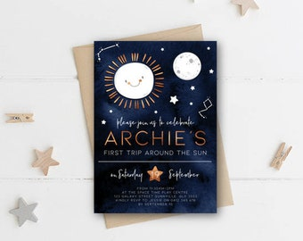 outer space invite etsy