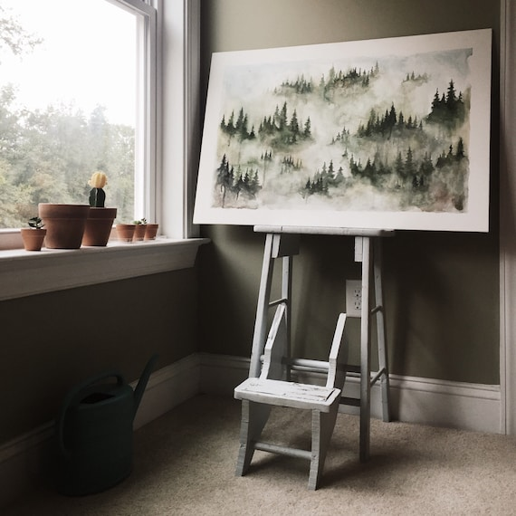 SOLD | Mist of The Mountains