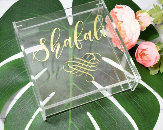 Personalized Jewelry Box - Make up Box - Monogram Makeup Box - Personalized Cosmetic Box - Quinceanera Gift Ideas - Sweet 16 Gift Idea & Personalized Jewelry Box - Make up Box - Monogram Makeup Box ...