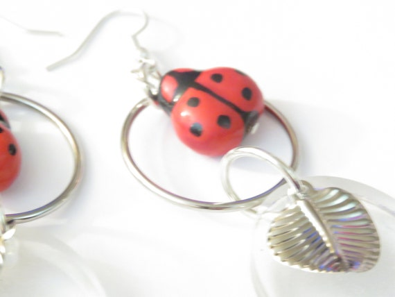 BULK 100 Large wooden ladybugs 19 x 13mm