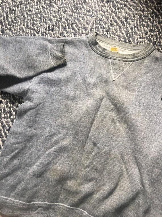 Vintage 1960s Russell Single V Sweatshirt sz ringw