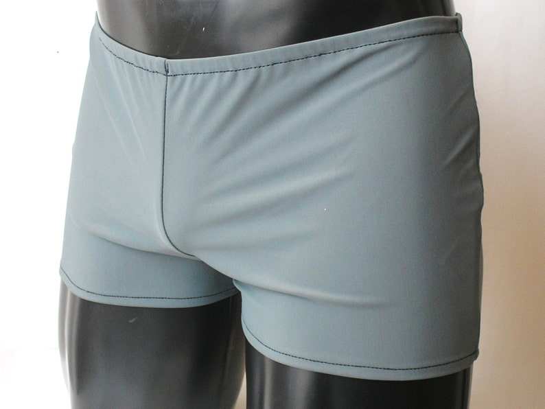 CLEARANCE Mens Spandex Booty Shorts L Large XL Lycra Hotpants image 0