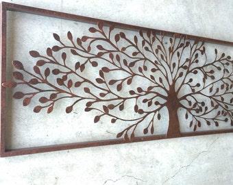Metal Wall Art, Metal Wall Decor, Metal Tree Wall Art, Tree Decor, Tree  Wall Decor, Tree Home Decor, Rustic Wall Art, Rustic Wall Decor, Art