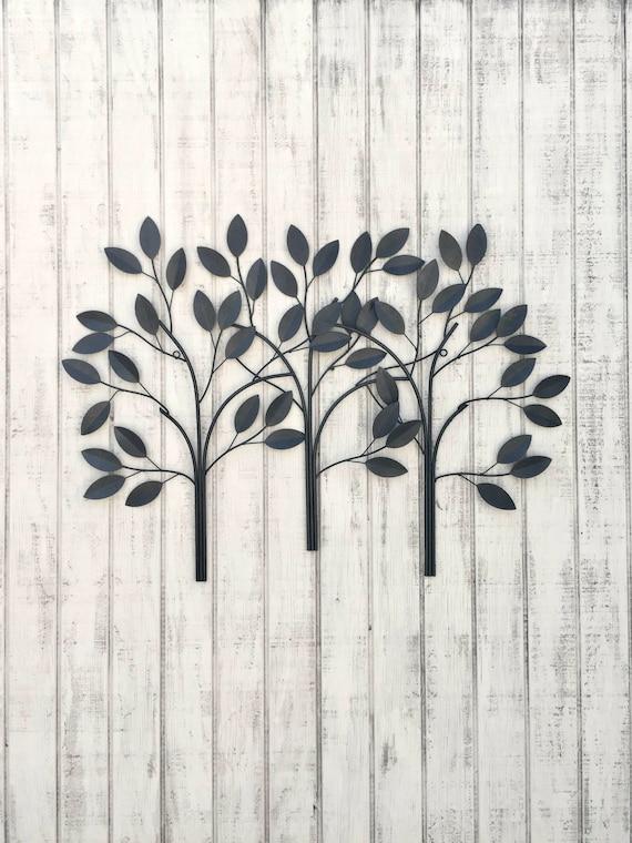 Large Wall Art Metal Wall Decor Metal Wall Art Tree Wall | Etsy