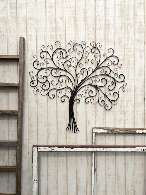 Large Metal Wall Art Metal Wall Decor Tree Wall Art Metal | Etsy