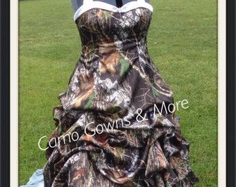 Southern Camo Wedding Dresses