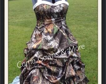 Southern Camo Wedding Dresses