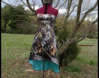 Hi / Lo Camo  Dress