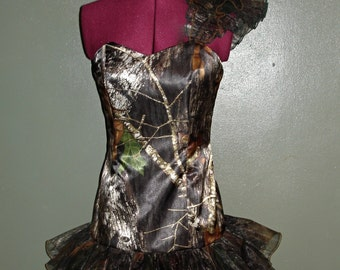 Mossy Oak Camo Mini Dress