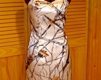 CAMO Cocktail Dress