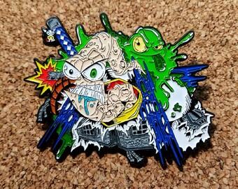 Earthworm Jim Blind Bag Pin!!