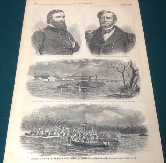 Sherman/'s March to the Sea Civil War Print Reproduction Fine Art Print
