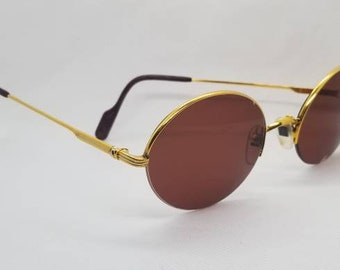 e38bacb7d0 Vintage Cartier Mayfair Gold Plated Sunglasses