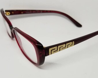 ab21dc5723e65 Vintage Versace Eyeglasses Frames Mod. 3178-B RX LENSES