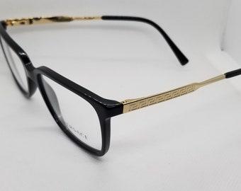 f1f94b898af Vintage New Old Stock Versace Gold Eyeglasses Frames Mod 3209 DEMO LENSES