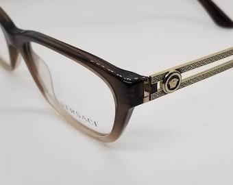 b49ce757ca Vintage New Old Stock Versace Gold Eyeglasses Frames Mod 3220 DEMO LENSES