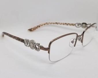 461dde0b9d5 Vintage Versace Semi Rimless Eyeglasses Frames Mod 1199 RX LENSES