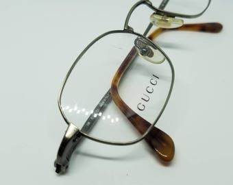 0a845d5eb85f New Condition Vintage Gucci Eyeglasses Frames Mod GG 2620 Missing one DEMO  LENS