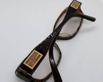 c8d466bdc901 ... FS142 Tortoise Antique Bronze RX LENSES.  97.00. Vintage Fendi  Eyeglasses frames Mod F884 RX LENSES