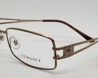a4cae537cd51d Vintage Versace Bronze Eyeglasses Frames Mod 1092-B DEMO LENSES