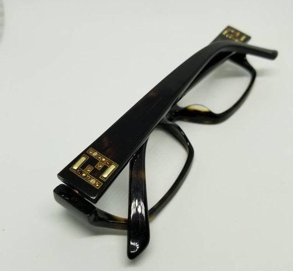 0e410beff8 Vintage Fendi Eyeglasses Frames Mod F966R RX LENSES