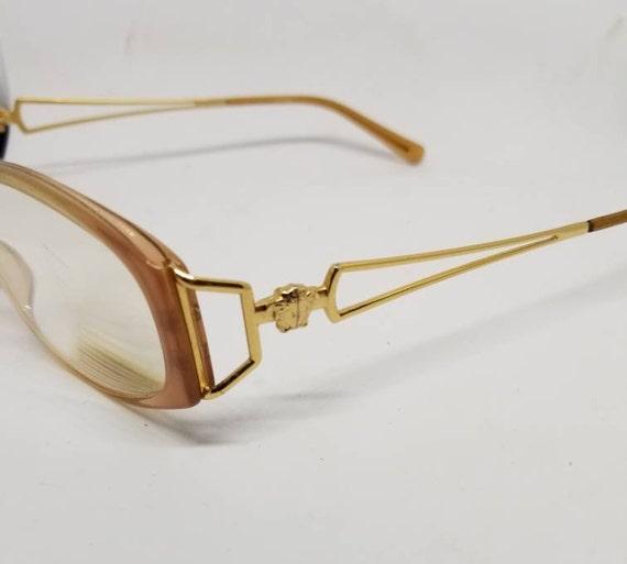 Vintage Versace Gold plated Eyeglasses Frames Mod V79 RX